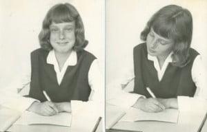 Emmy aged twelve